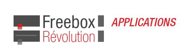 Toutes les applications sur Freebox Révolution